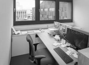 GLU Sachsen, Büroraum